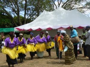 Grupo de danza tradicional.