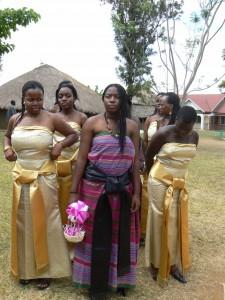 Las damas de la novia.