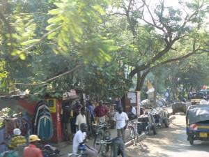 Mercado de Kisumu.
