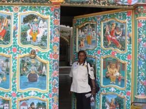 Templo hindú.
