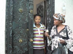 Puerta de Lamu.