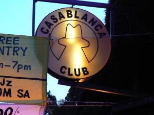 Rotulo del Casablanca