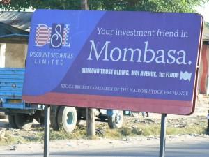 Cartel de Mombasa.