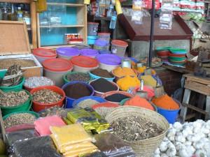 Puesto del mercado de Mombasa
