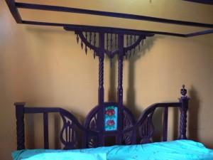 La cama otomana del Glory.