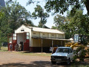 El parque de los bomberos de Tororo